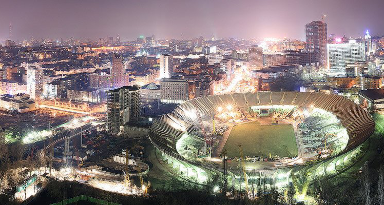 The history of the Olympic Stadium