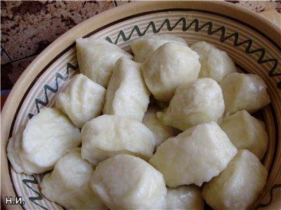 Poltava dumpling