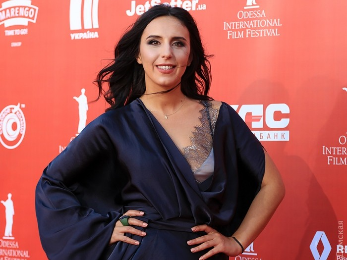 Jamala told and made a declaration of love to Kiev